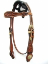 "Show Bridle  ""Two Tone"""